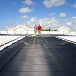 Reflective TPO Roofing Panels