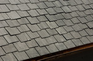 Nice slate roof residential example